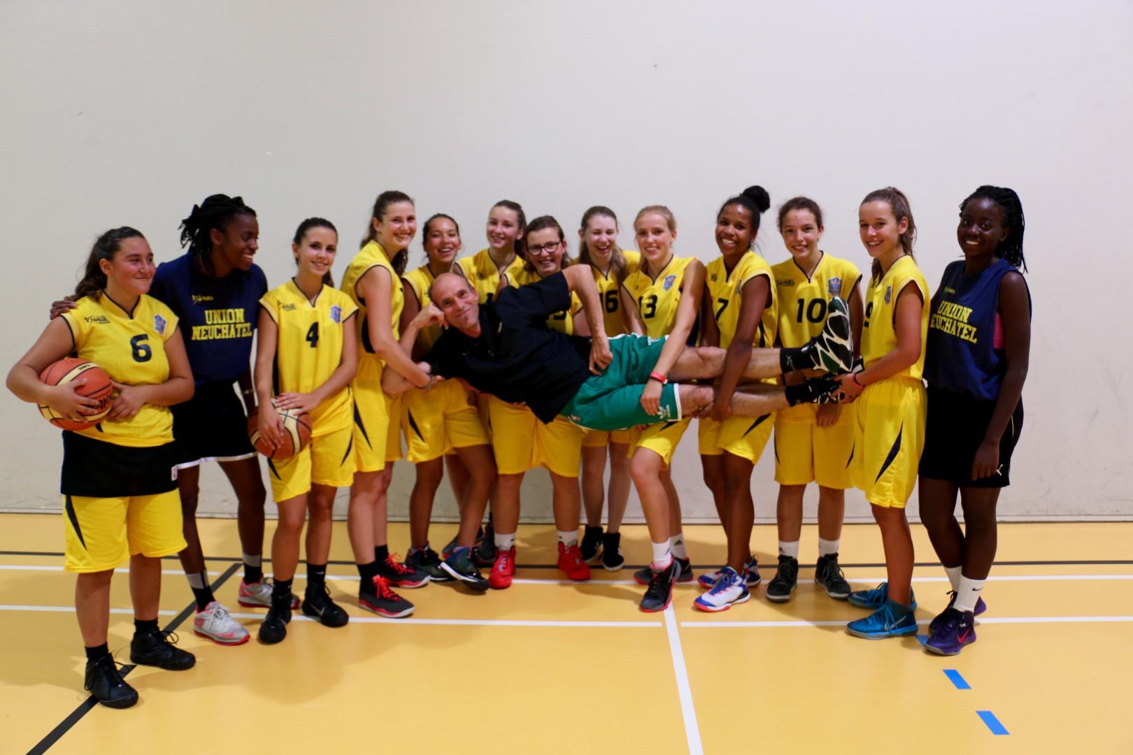 Equipe U16 Féminine COBB