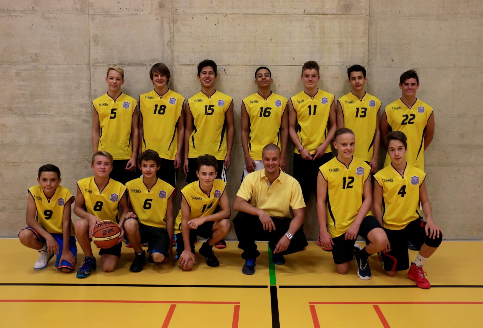 Equipe U16 Masculins COBB