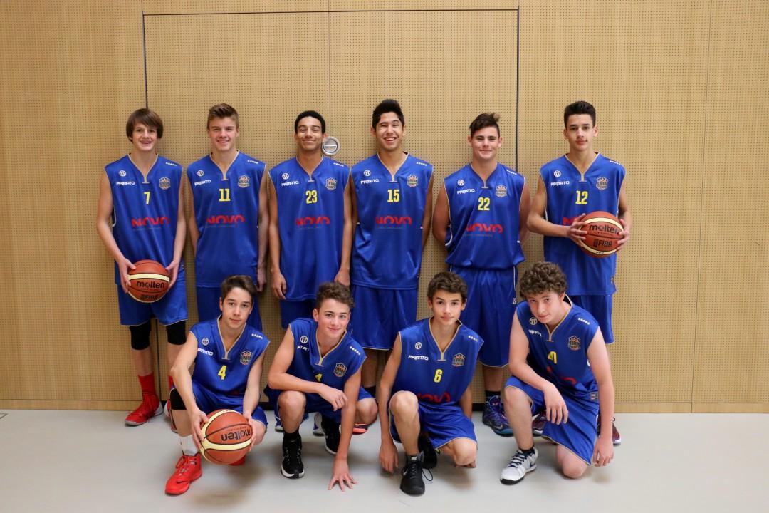U16M COBB - Nouveau jeu de maillots