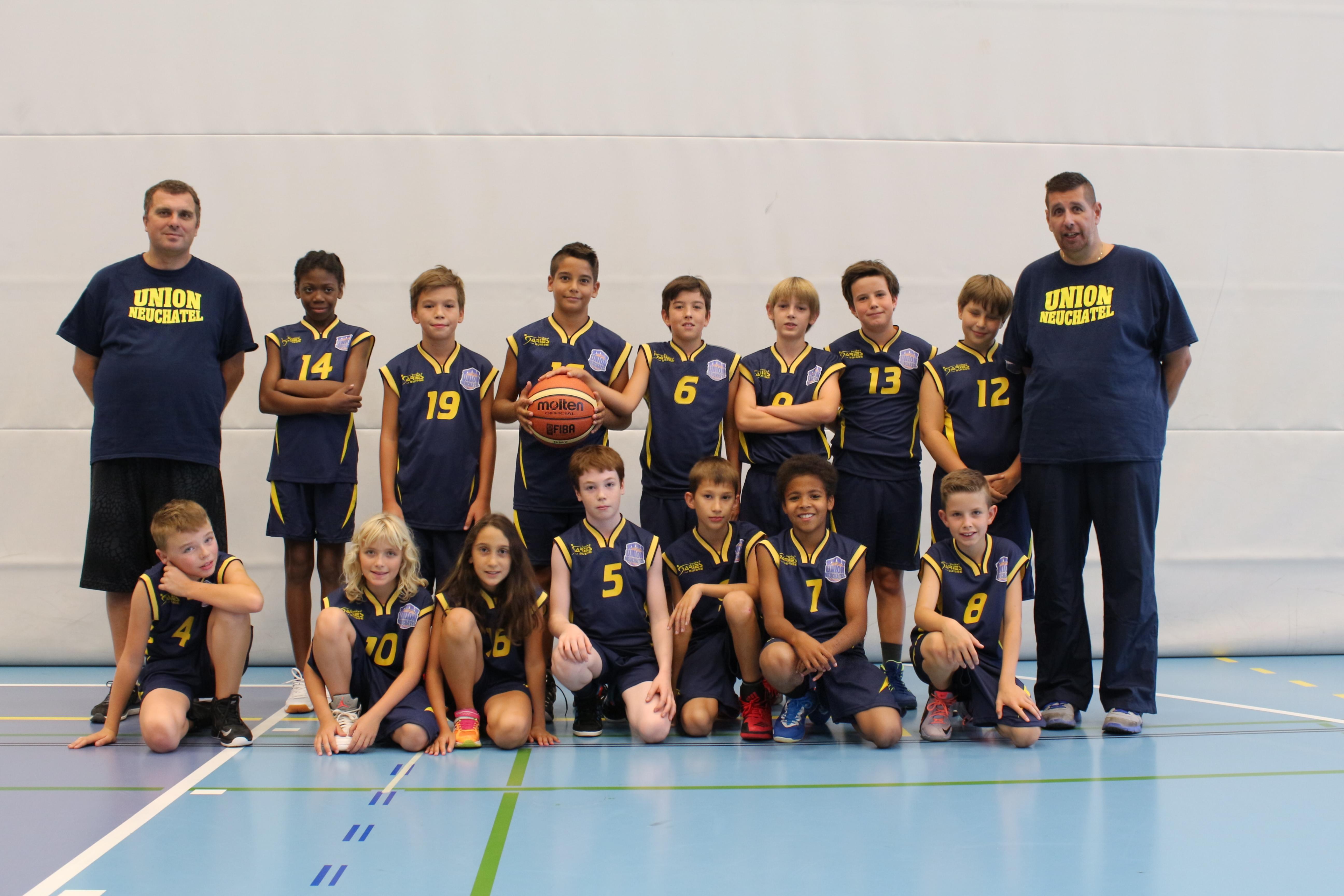 U12 - Minimes - Equipe 1